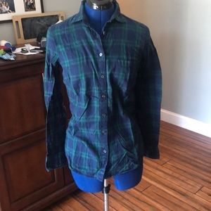 J Crew Button Down Flannel